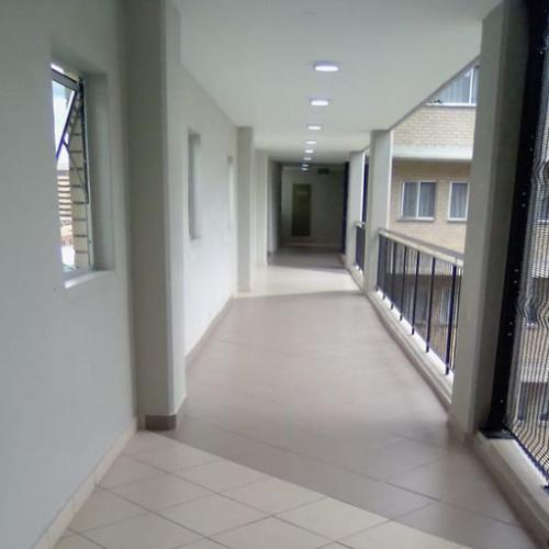 Spic n Span Cleaned Office Building Corridor