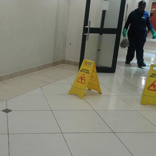 Spic n Span Reponsible Caution During Cleaning